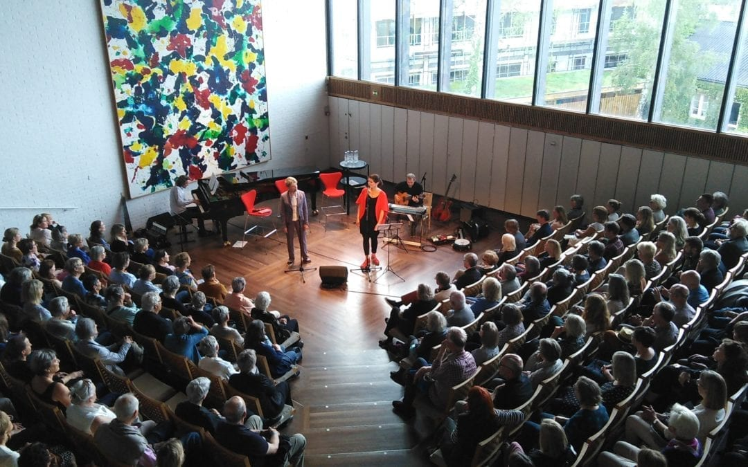 Edith Södergran fortolkes på Lousiana Museum